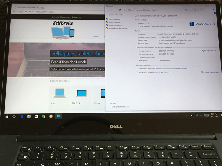 Dell XPS 15-9550 and 13-9335 laptops back to back test