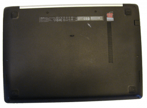 Asus VivoBook Q301L Laptop Bottom