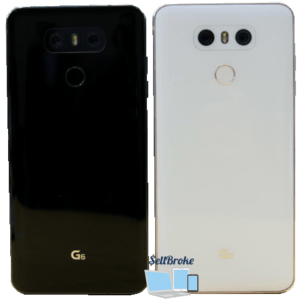 LG G6 Phone Front and Back