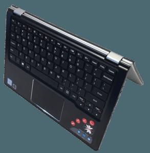 Lenovo Yoga 700 Laptop Tent Mode