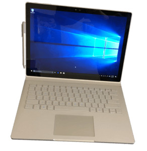 Microsoft Surface Book 2-in-1 Laptop Front