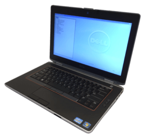 Dell Latitude E6420 Laptop Right Angle