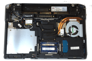 Dell Latitude E6420 Laptop-Inside