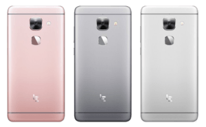 Leeco Le Max 2 smartphone colors