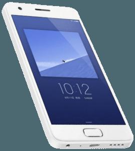 Lenovo Zuk Z2 Phone White Angle