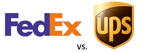 FedEx vs UPS Shipping