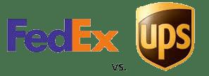 FedEx vs UPS Shipping
