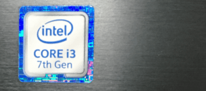 Intel Core i3 7th gen laptop processor