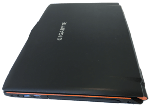 Gigabyte Sabre Gaming Laptop Right Side Top