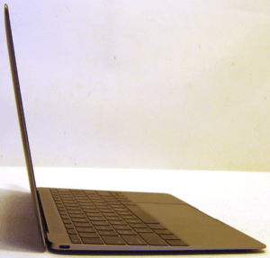 MacBook 12 Laptop Left Side Profile