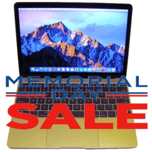 MacBook 12-inch Laptop Memorial Day Sale