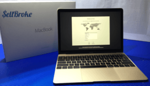 MacBook 12 Laptop and Retail Box