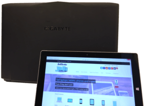 SellBroke Gigabyte Sabre Gaming Laptop Back