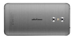 UleFone Gemini Phone Gray Back