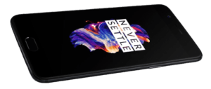 OnePlus 5 Phone Angle