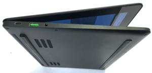 Razer Blade RZ09 0196 Laptop Left Side Ports and Bottom Case