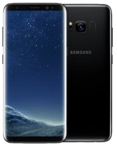 Samsung Galaxy S8 Front and Back