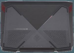 HP Omen 2017 Laptop with GTX 1050Ti Bottom