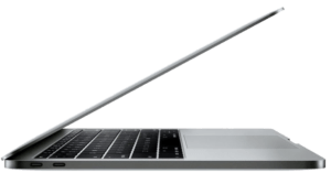 MacBook Pro 2017 Laptop Side Profile