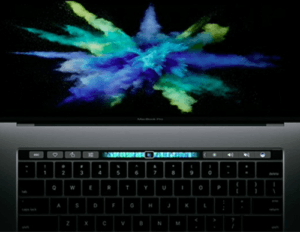 MacBook Pro 2017 Touchbar