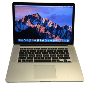 MacBook Pro A1398 Laptop Front