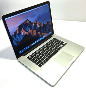 MacBook Pro A1398 Laptop Left Angle