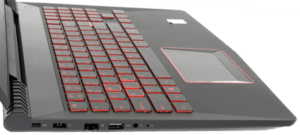 HP Omen 2017 Laptop Keyboard and Trackpad