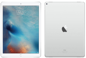 iPad Pro 10.5 Front and Back