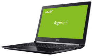 Acer Aspire A515 Laptop Freen Home Screen