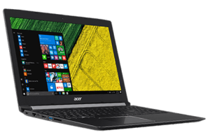 Acer Aspire A515 Laptop Left Angle