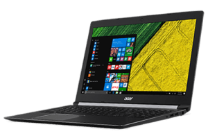Acer Aspire A515 Laptop Right Angle
