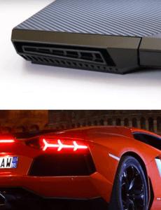 HP Omen 15 design Compared with lamborgini