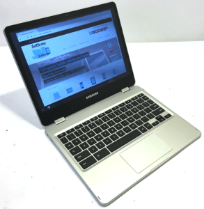 Samsung Chromebook Pro Laptop Left Angle