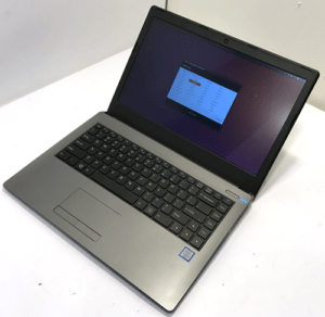 System76 Lemur Laptop Left Angle