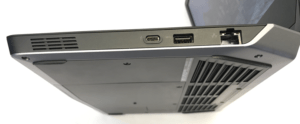 Alienware 13 R2 Laptop Right Side Ports