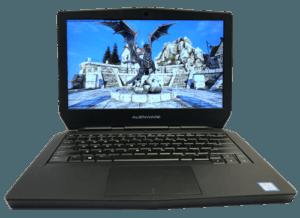 Alienware 13 R2 Laptop Front
