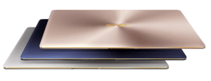 Asus Zenbook 3 Laptops Colors