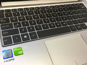 Asus Zenbook UX303U Laptop Keyboard and Trackpad