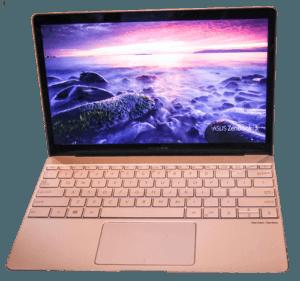 Asus Zenbook UX390 Laptop Front