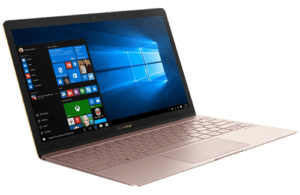 Asus Zenbook UX390 Laptop Left Angle