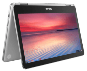 Asus Chromebook C302 Laptop Tent Mode