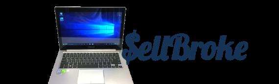 Asus Zenbook UX303U Touchscreen Laptop