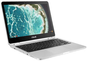 Asus Chromebook C302 Laptop Left Angle