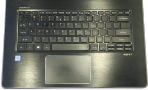 Acer R14 R5 Laptop Keyboard and Trackpad