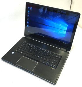 Acer R14 R5 Laptop Right Angle