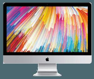 Apple iMac 27 front