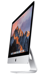 Apple iMac 27-inch side