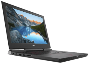 Dell Inspiron 7577 GTX 1060 Laptop Left Angle