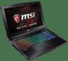 MSI GE62 Laptop Left Angle