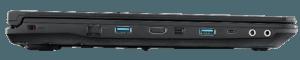 MSI GE62 Laptop Ports